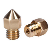 BIGTREETECH® Swiss Brass Nozzle M6 Thread for 1.75MM Filament J-head hotend Extruder CR10 Ender3 3D Printer Parts  High Quality