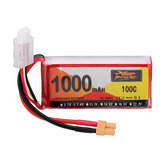 ZOP Power 7.4V 1000mAh 100C 2S Lipo Battery XT30 Plug for RC Helicopter