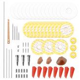 Profissional Ferramentas de Manutenção de Reparo de Flauta Kit Parafusos + Juntas + Almofadas + Cavilhas + Reed Acessórios para Instrumentos Musicais E Caso