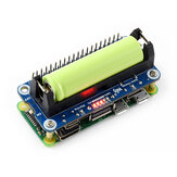 Catda Raspberry Pi 4B Battery Expansion Board 5V Mobile Power Module Two-way Fast Charge Compatible with 3B+/Zero W