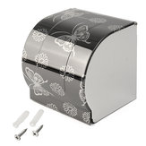 Toilet Paper Holder Paper Tissue Box Wall Mounted Support