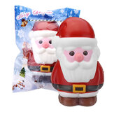 Cooland Jul Santa Claus Squishy 14.2 × 8.4 × 9.2CM Soft Långsam Rising Med Packaging Collection Gift Toy