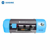SUNSHINE SS-890C Auto Film Cutting Machine Mobile Phone Tablet Front Glass Back Cover Protect Film Cut Tool Protective Tape