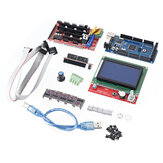 Ramps 1.6 Motherboard +5pcs DRV8825 Stepper Motor Driver+Mega 2560 R3 Reprap Model+LCD 12864 3D Printer Part Kit