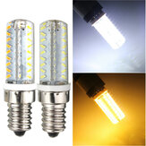 E14 5W Silica 72 3014 SMD LED Corn Lamp Dimmable Warm Pure White Light Bulb 220V
