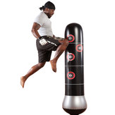 KALOAD 1.5m/59inch Punching Bag Inflatable Sandbag Free-Stand Tumbler Training Fitness  Pressure Relief Sandbag