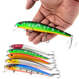 ZANLURE 5PC 13CM 19G Hard Bait Minnow Fishing Lures Sea Freshwater Fishing Bait Casting Spinning Jigging Fishing Lure