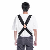 2'' Wide Braces Suspender Heavy Duty Men's Tool Adjustable Trouser Belt