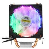 تيار منتظم 12 فولت 3pin Colorful الخلفية 90 ملليمتر معالج مروحة تبريد الكمبيوتر غرفة تبريد ل انتل / AMD ل الكمبيوتر حالة الكمبيوتر