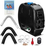 12 V/24 V elektryczny nagrzewnica powietrza przełącznik LCD z pilotem automatyczna regulacja temperatury łatwa instalacja w samochodzie