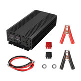 3000W Peak Pure Sine Wave Power Inverter LED DC 12V To 110V 120V AC Converter