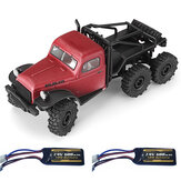 FMS Atlas 6X6 1/18 2.4G Crawler RC Car RC Vehicles Model RTR Full Proportional Control Two Battery
