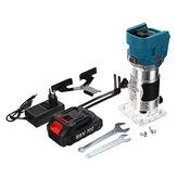 88VF 6 velocidades reguladas sem escova sem fio portátil elétrico aparador marcenaria marcações entalhadoras entalhadoras roteador