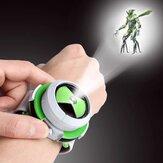 DK BEN10 Figuras creativas de dibujos animados para niños Alien Proyector Pulsera de energía para niños Regalos de cumpleaños