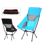 Outdoor Camping Chair Oxford Cloth Portable Folding Lengthen Camping Ultralight Chair Seat for Fishing Picnic BBQ Beach 120KG Max Bearing
