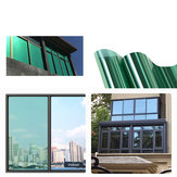 40cm x 1M/3M / 5M One Way Mirror Window Tint Window Film انعكاس الخصوصية Tint Film