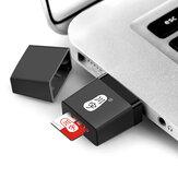 Leitordecartãodememóriaportátil universal mini usb 2.0 tf cartão para tablet pc telefone móvel