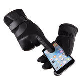 Winter Warm Unisex Touch-Screen Thermal Lined Full-finger Guantes para teléfonos inteligentes tabletas