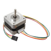 42mm 12V Nema 17 To-fase Stepper Motor til 3D-printer
