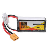 ZOP Power 7.4V 1500mAh 40C 2S Lipo Battery XT60 Plug