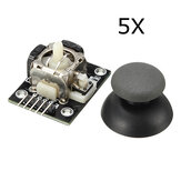 5Pcs PS2 Game Joystick Switch Sensor Module Geekcreit for Arduino - products that work with official Arduino boards