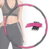 CHARMINER Removable 8-Sections Fitness Circle Body Shaping Slimming Circle Home Fitness Gymnastics Equipment
