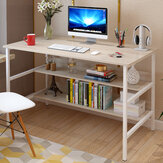 120x45x73cm Laptop Computer Desk Study Table Storage Home Office Workstation Kit