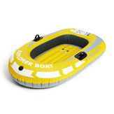 Inflatable Boat Kayak Canoe 1 Person 90KG Rowing Air Drifting Diving Fishing Wear-Resistant