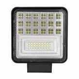 2Pcs 126W LED Barra de luz de trabalho Luzes de ponto de inundação Lâmpada de condução Offroad Motorcycle Car Truck SUV