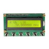 Générateur de signaux DDS AD9850 6 bandes 0 ~ 55MHz Radio numérique à ondes courtes