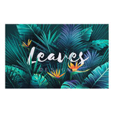 Forest Backdrop Green Tropical Leaves Vinyl Backdrops Palm Trees and Monstera Photography Background for Interior Room Wallpaper Summer Camp Photo Studio Props