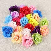 1個のDIYパーティー人工バラの花シミュレーションシルクの家の結婚式の装飾