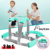2 in 1 Toddler Safety Harness Anti Lost Wrist Link Baby Kid