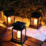 Солнечный приведенный в действие фонарь LED Солнечные свечи На открытом воздухе Декоративный светильник для газонов Патио Пейзаж Дерево Дв