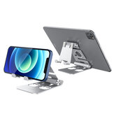 BlitzWolf® BW-TS4 3 i 1 tablet / telefonholder Bærbar sammenklappelig online læring Live streaming desktop stativ Watch tablet telefonholder til iPhone 12 Poco til Samsung Galaxy S21 X3 NFC