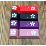 PBT Cherry Blossom Personality Chave ESC + Enter Keycap