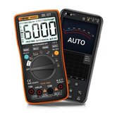 ANENG AN9002 رقمي Bluetooth True RMS Multimeter 6000 Counts Professional Auto Multimetro AC / تيار منتظم اختبار الجهد الحالي