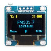 2pcs 0,96 polegadas 4Pin Azul Amarelo IIC I2C OLED Módulo de exibição Geekcreit para Arduino - produtos que funcionam com autoridade para placas Arduino