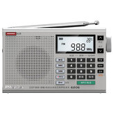 Panda 6206 FM MW SW Full Band Radio DSP Digital Tuning Portable Speaker MP3 Music Player