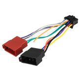 Car Stereo Radio ISO Arnés de cables Conector 16 pines PI100 para Pioneer 2003-Up