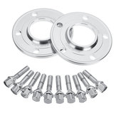 10mm Hub Alloy Centric Wheels Spacers Hubcentric Kit For BMW E36 E46 E60 E90