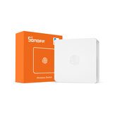 SONOFF SNZB-01 - ZB Wireless Switch Mini Size Link ZB Bridge met WiFi-apparaten Maak ze slimmer via eWeLink APP IFTTT