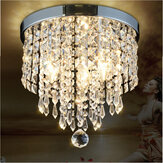 LED Lampe suspension de plafond Lampe de cristal élégante LED Chandelier Light Home Decor