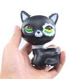 Cat Squishy Black Kitten 8CM Slow Rising Rebound Toys With Packaging Gift Decor