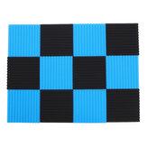 Os painéis 12pcs acústicos que fazem isolamento sonoro a espuma do algodão da isolação telham o estúdio 30 * 30 * 2.5cm