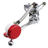 Alavanca de embreagem do cilindro do freio hidráulico da motocicleta de 7/8 polegadas 17 mm