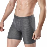 Ice Silk Mesh Breathable Soft Lengthened Anti-friction Boxer