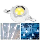 3W White LED Light Beads 6000-6500K 45mil 700mA DIY Chip for Spotlight Ceiling Lamp 3.2V-3.4V