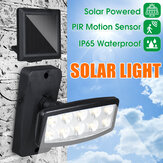 IP65 Cordless LED Solar Powered Wall Lights  Motion Outdoor Security Flood Lamps