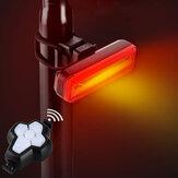 BIKIGHT vezeték nélküli távirányító kerékpár jelzőfény kerékpár irányjelző lámpa USB töltés vízálló éjszakai figyelmeztető lámpa